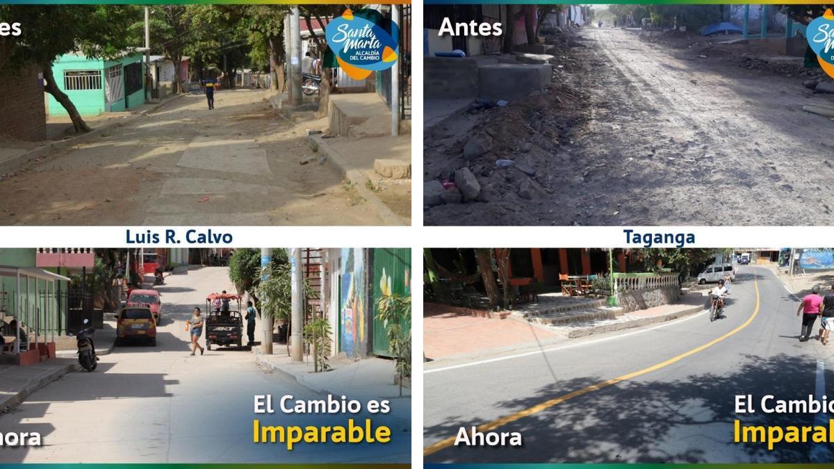 """""""Desde que llegamos y hasta que nos vayamos,  seguiremos entregando obras"""": Alcalde Martínez"""