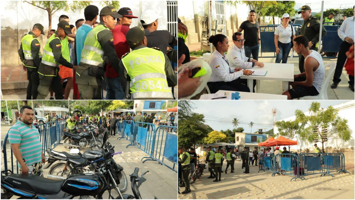 Intensifican operativos de seguridad en barrios de Santa Marta
