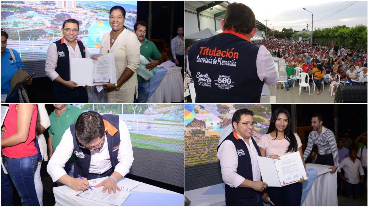 """""""Gracias Alcalde por hacer un sueño posible"""": comunidad de la Localidad II"""