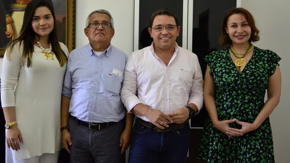 El alcalde Rafael Martínez juramentó en la mañana de este martes 3 de julio a tres nuevos integrantes de su gabinete