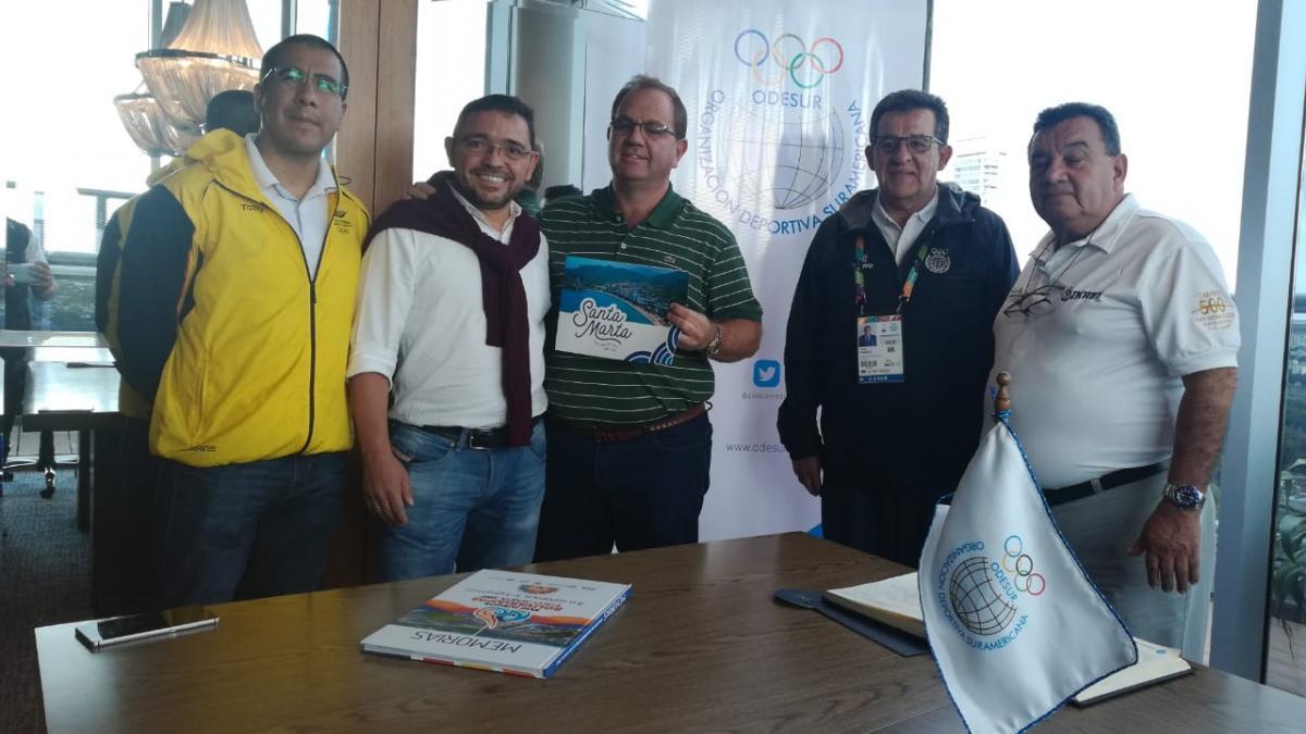 """""""Los Juegos de Mar y Playa hay que lograrlos para Santa Marta, no importa quién los realice"""": alcalde Rafael Martínez"""