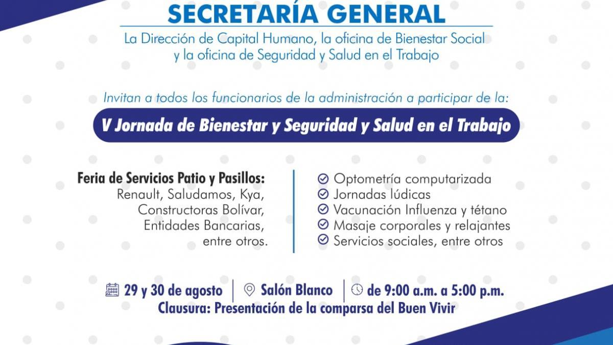 Jornada de Bienestar, Seguridad y Salud en el Trabajo