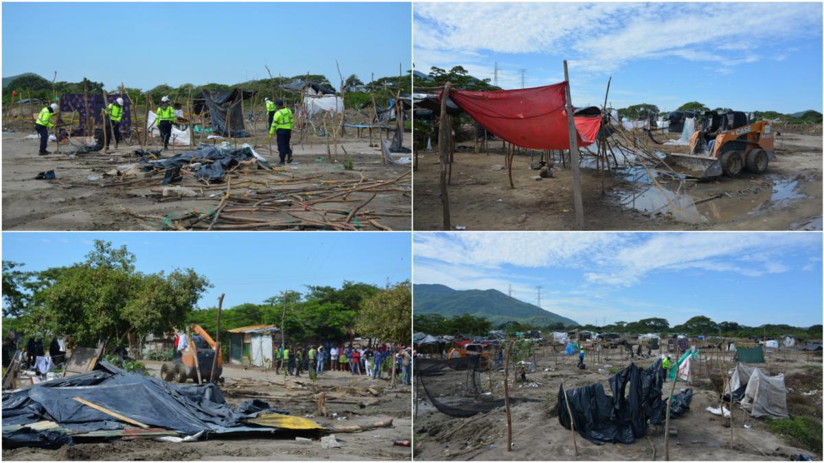Tercer operativo de recuperación del espacio público en Bureche