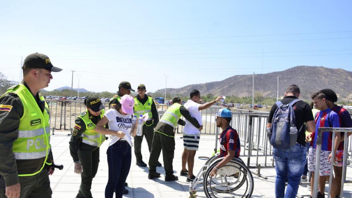 Alcaldía y Policía Nacional garantizan la seguridad en el partido Unión Magdalena vs Deportivo Independiente Medellín
