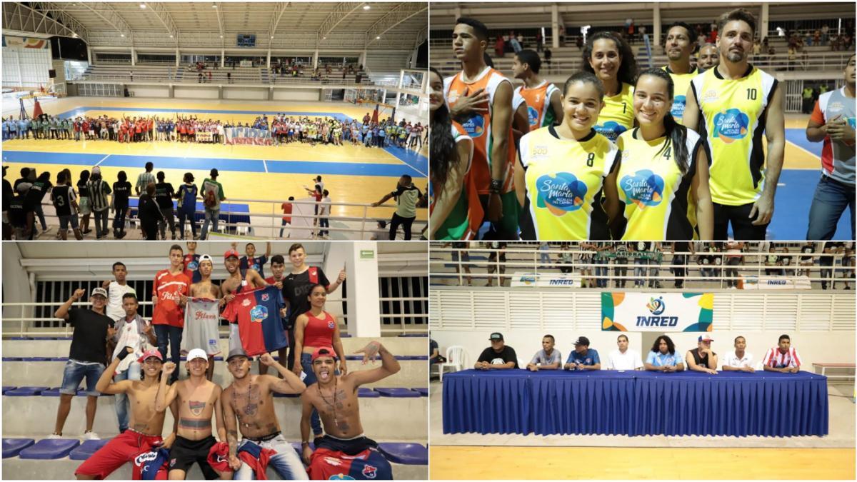 Iniciaron las IV Olimpiadas Deportivas por Localidades de la Paz