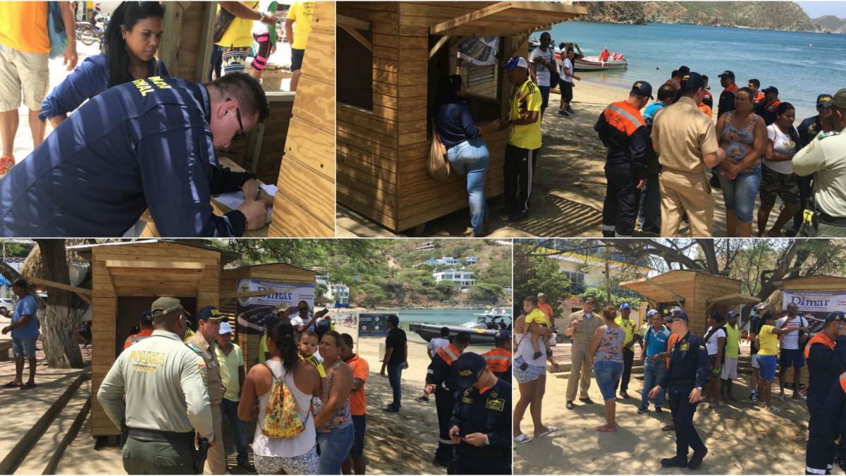 Fortalecen control en transporte turístico marino en Taganga