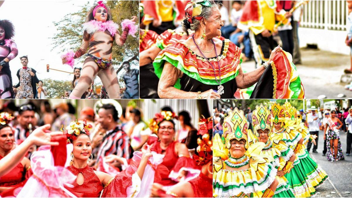 Estos son los ganadores del Desfile Folclórico
