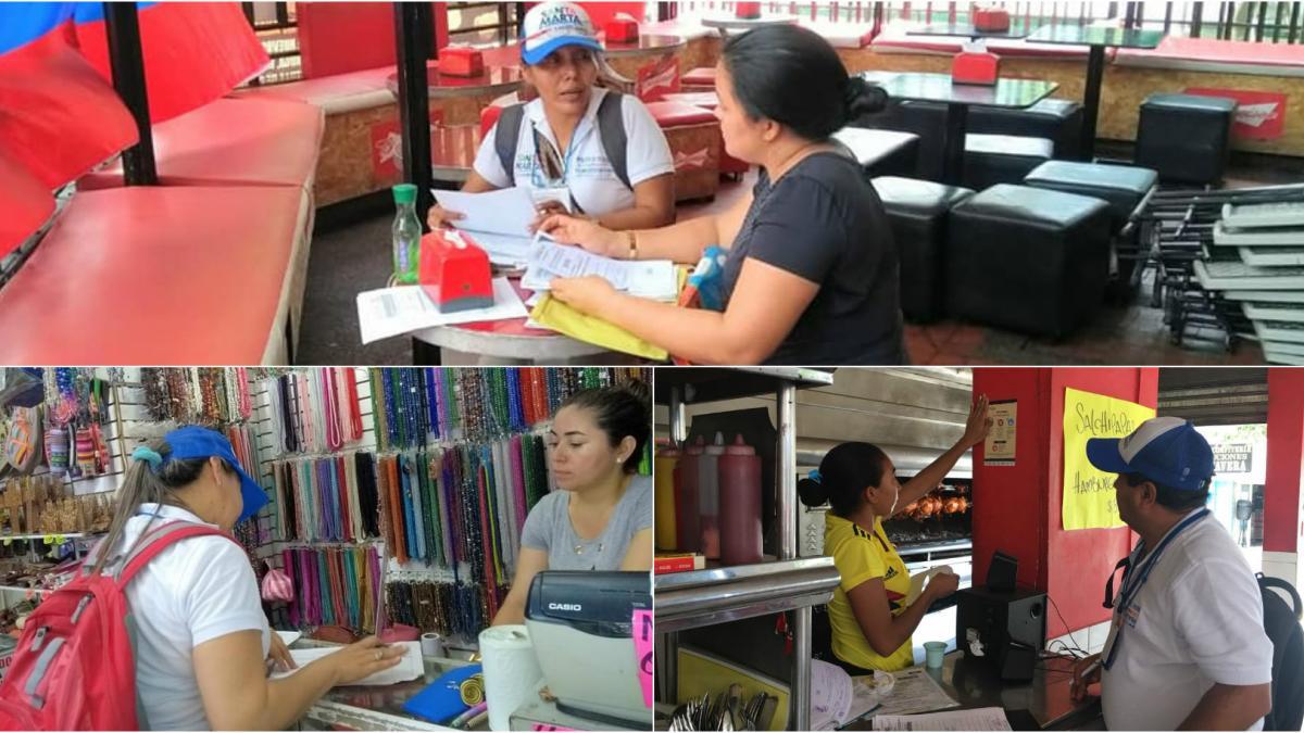 Distrito fortalece la formalización de 691 establecimientos comerciales