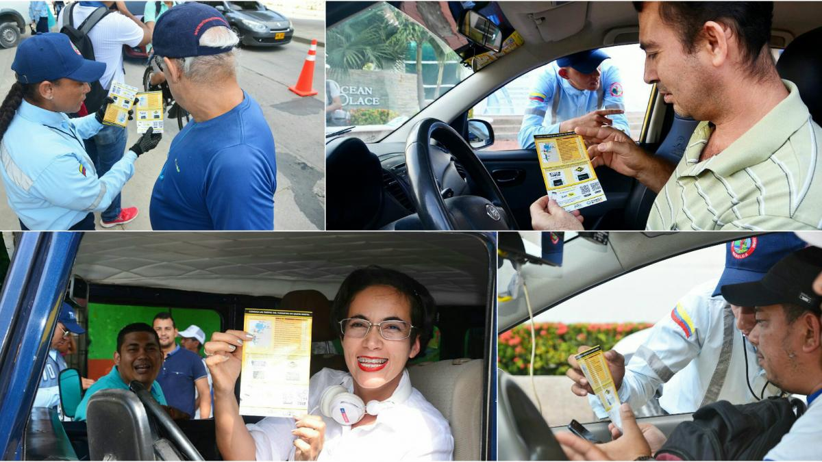 Secretaría de Movilidad hace pedagogía del taxímetro
