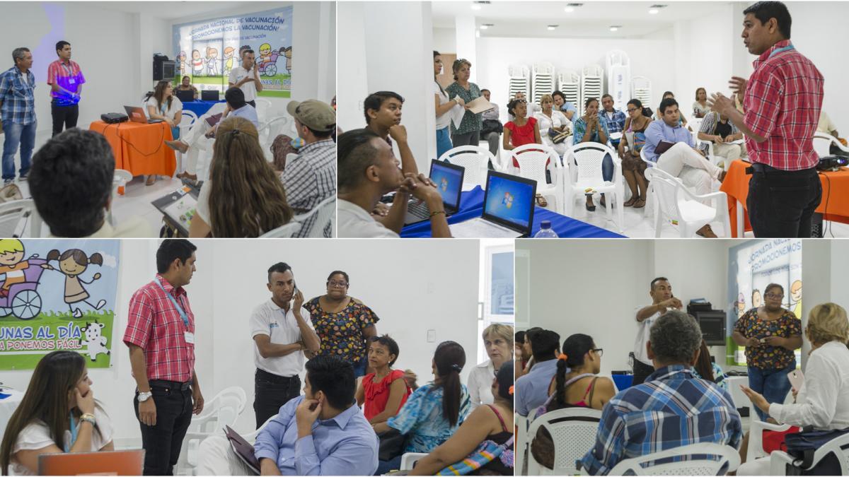 Distrito apoya el desarrollo de proyectos productivos para los sectores vulnerables