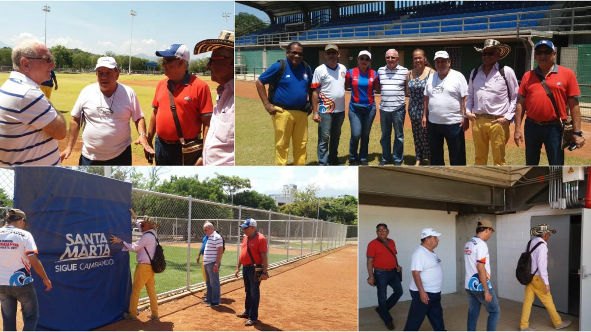 """Estadio """"La Equidad"""" recibió a Comisión Técnica de Fedebéisbol"""