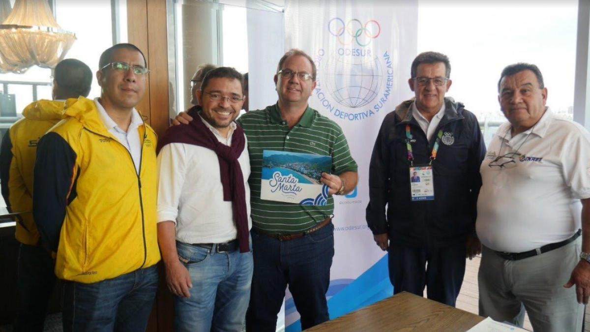 El Alcalde Rafael Martínez empezó a promocionar a la ciudad en Argentina