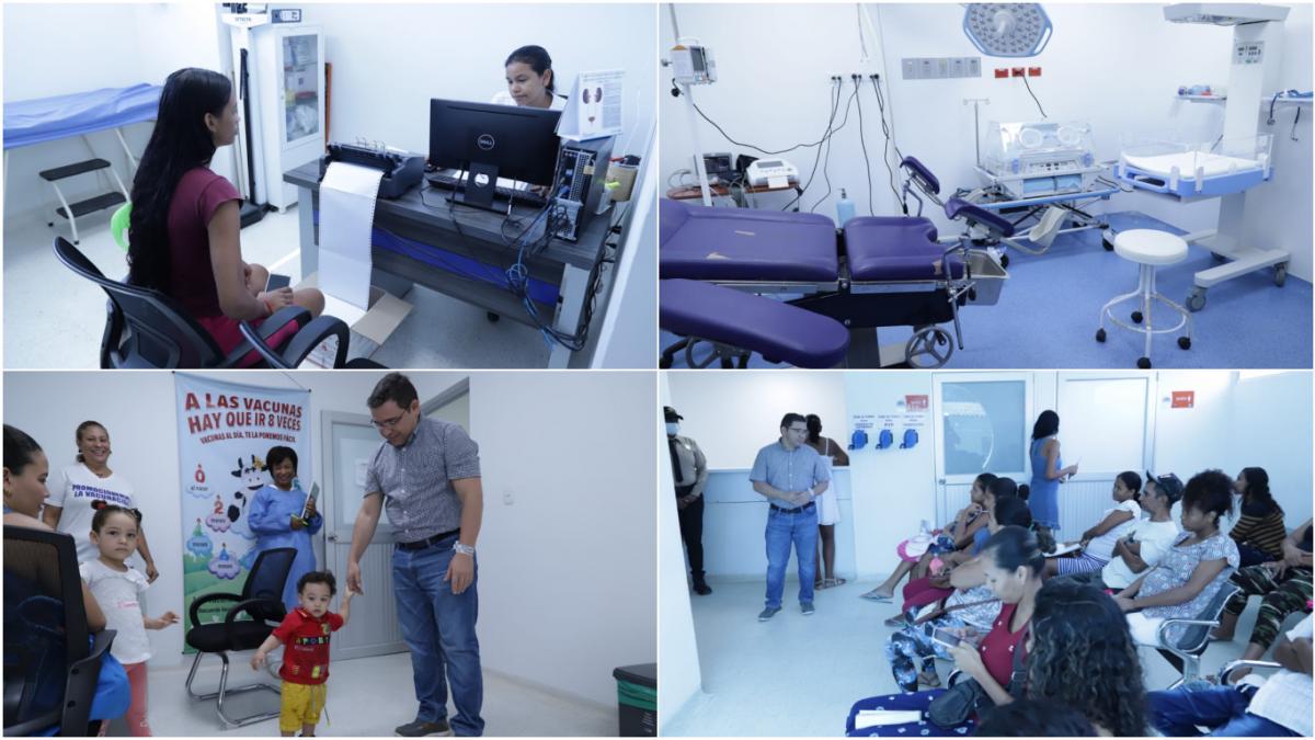300 pacientes acceden diariamente a los servicios médicos del Puesto de Salud de La Paz