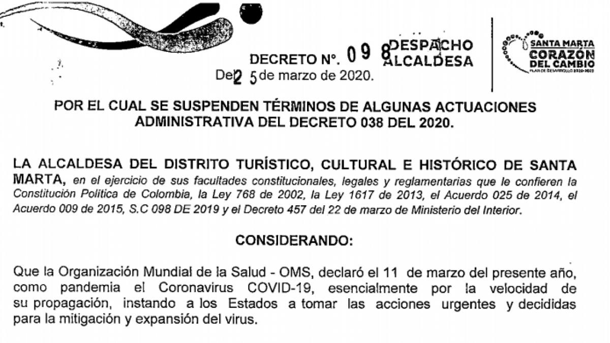 Suspendido cronograma para elegir alcaldes locales