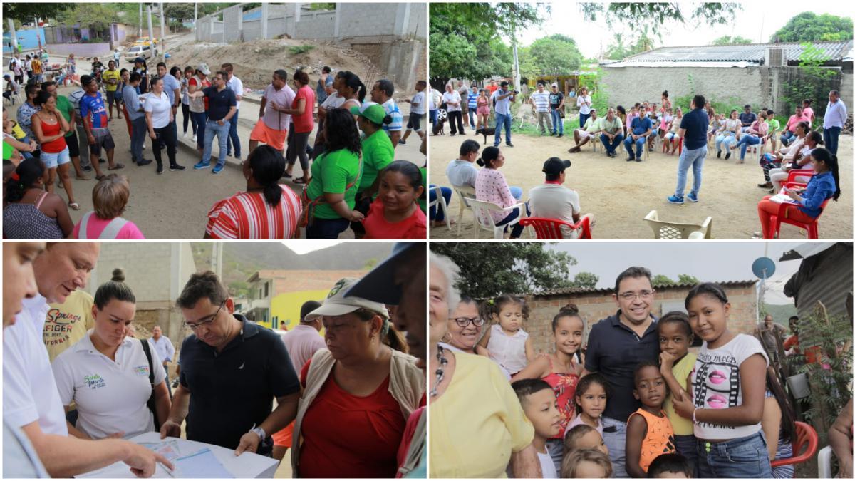 15 barrios más de Santa Marta contarán con nuevos y modernos parques
