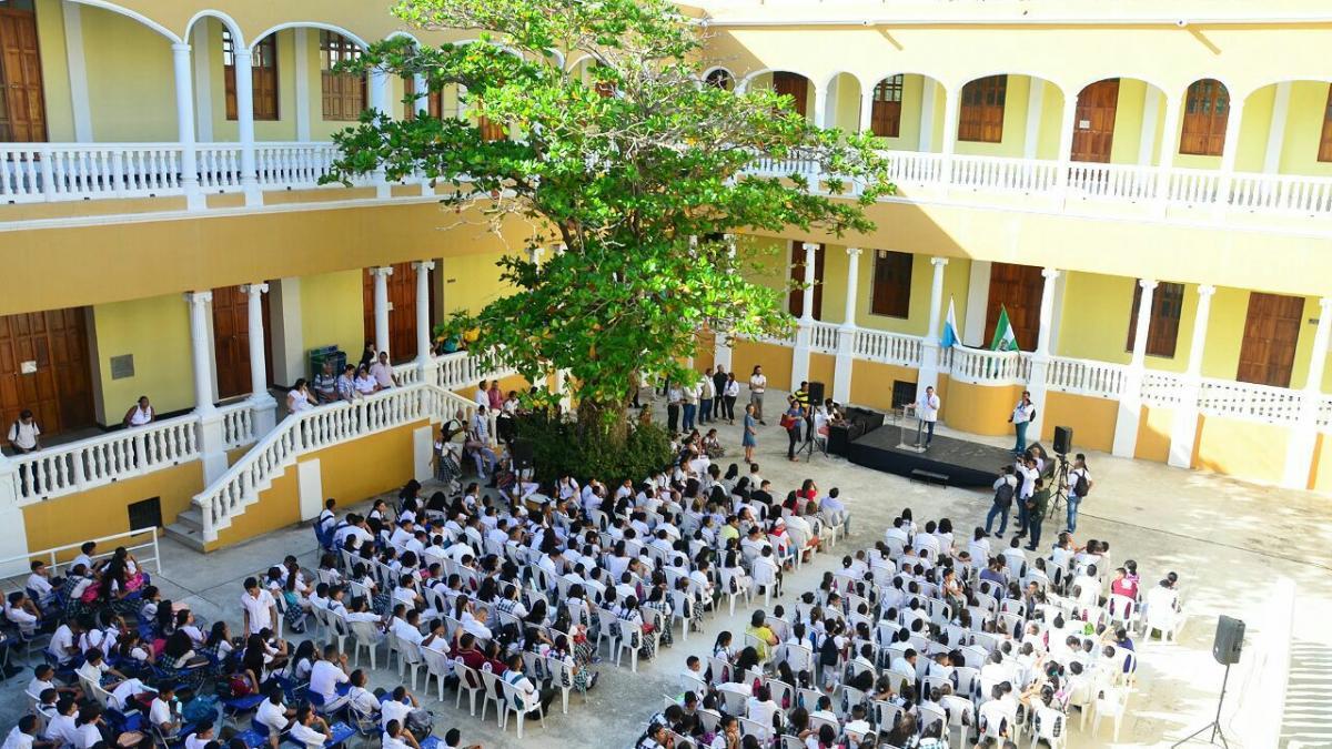 Más de $4 mil millones invirtió el Distrito  en segunda fase de Liceo Celedón