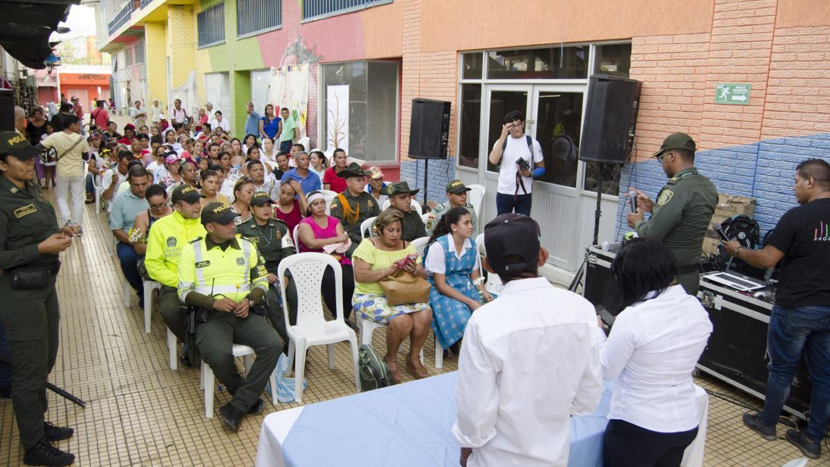 La Alcaldía del Cambio continúa construyendo espacios de paz y reconciliación