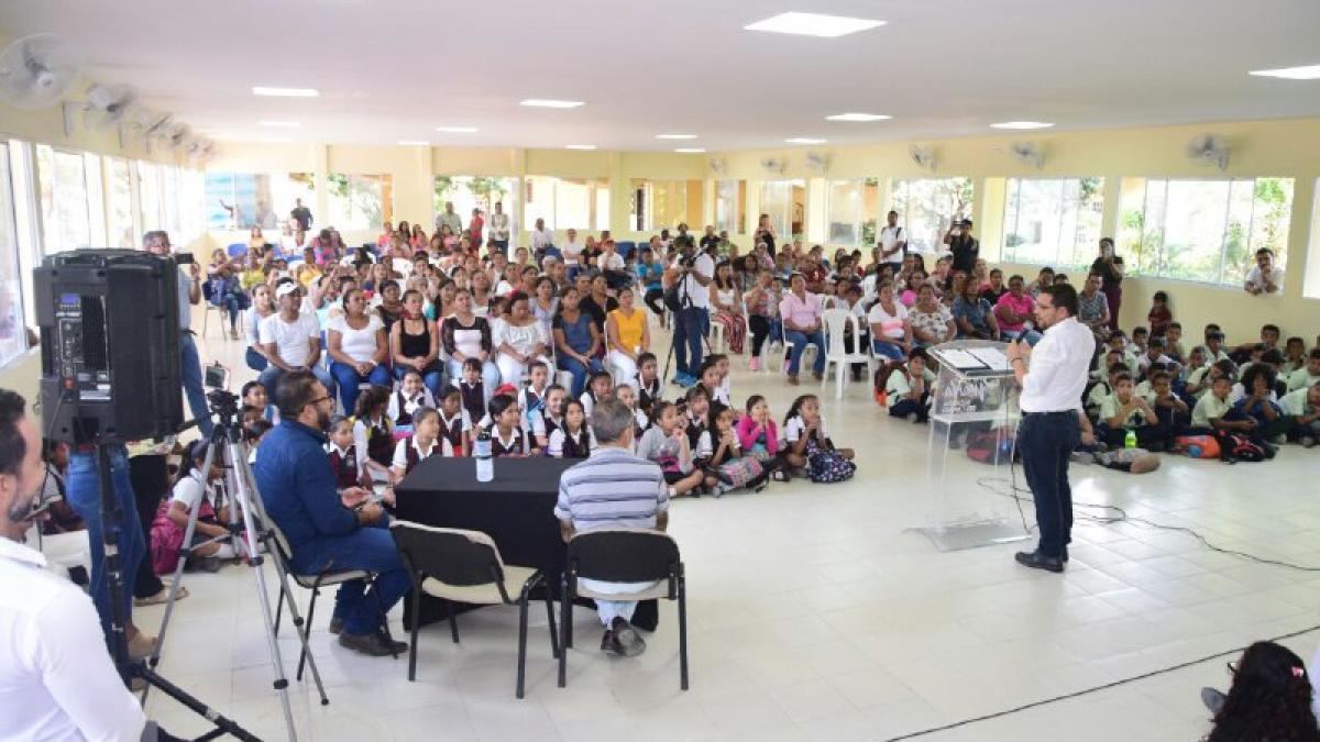 Alcalde convoca a participar en la movilización social por la educación