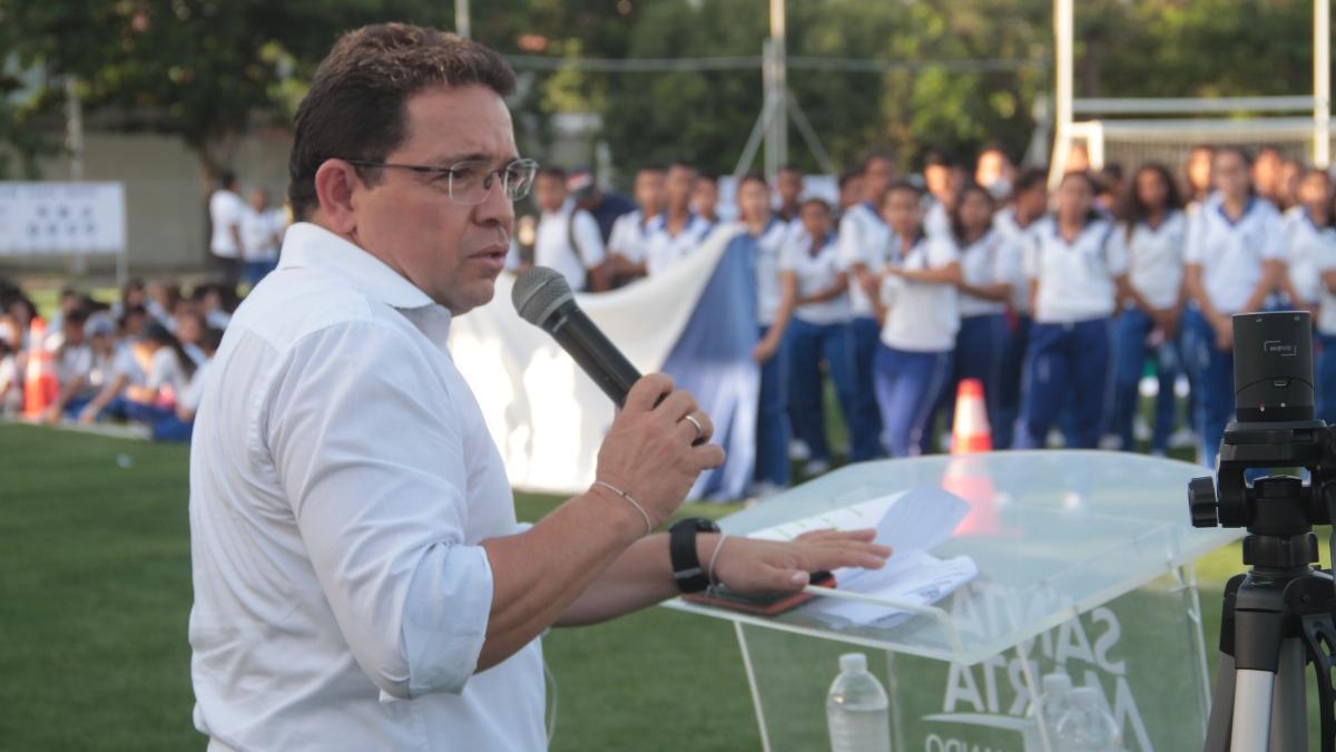 Alcaldía de Santa Marta garantiza recursos para Juegos Distritales Intercolegiados