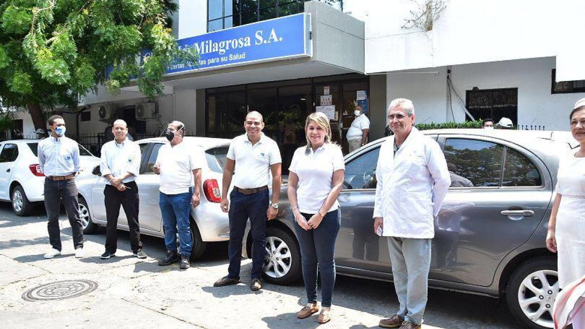 Alcaldesa establece alianza para ofrecer transporte a trabajadores de la salud