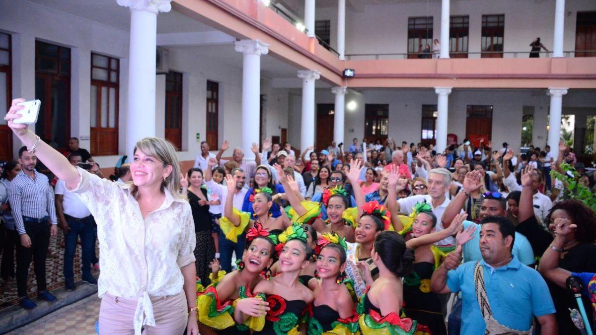 Alcaldesa Johnson da continuidad y fortalece el Fondo Distrital para la Cultura y las Artes