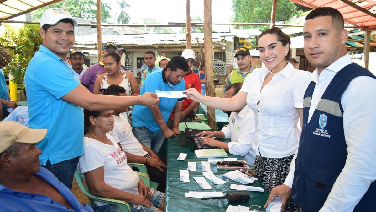 Alcaldía del Cambio capacitó a 275 ciudadanos en área rural de Santa Marta
