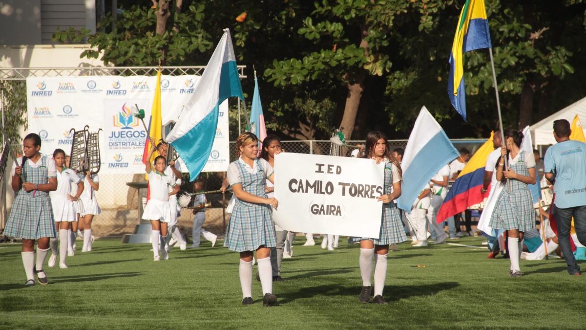 """Alcaldía inició """"estiramientos"""" para los Juegos Distritales Intercolegiados en Santa Marta 2019"""