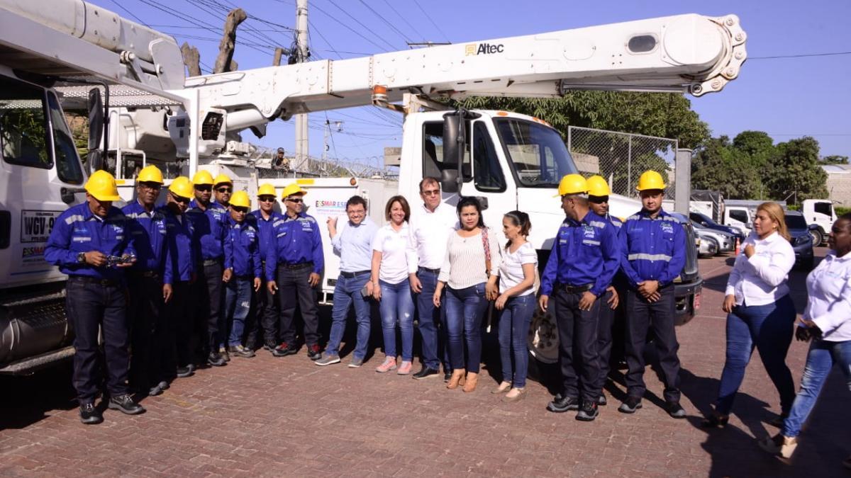 Santa Marta tendrá 100% de luminarias LED en los próximos dos años