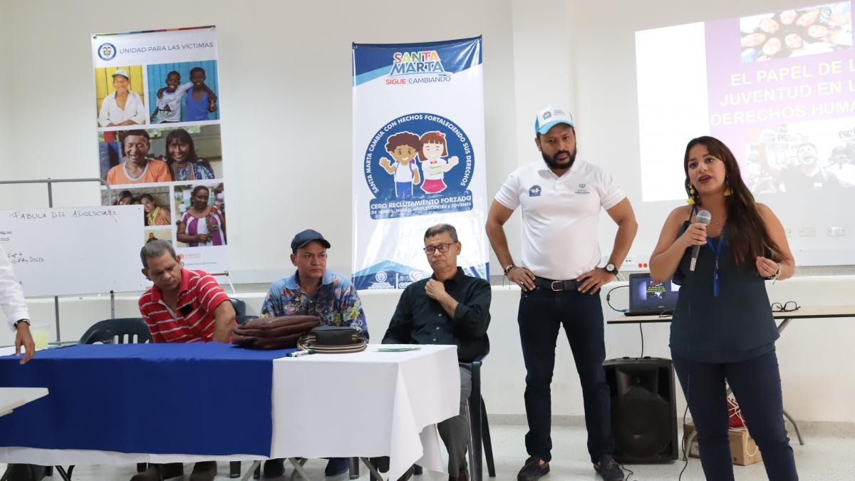 Se realizó seminario sobre Derechos Humanos