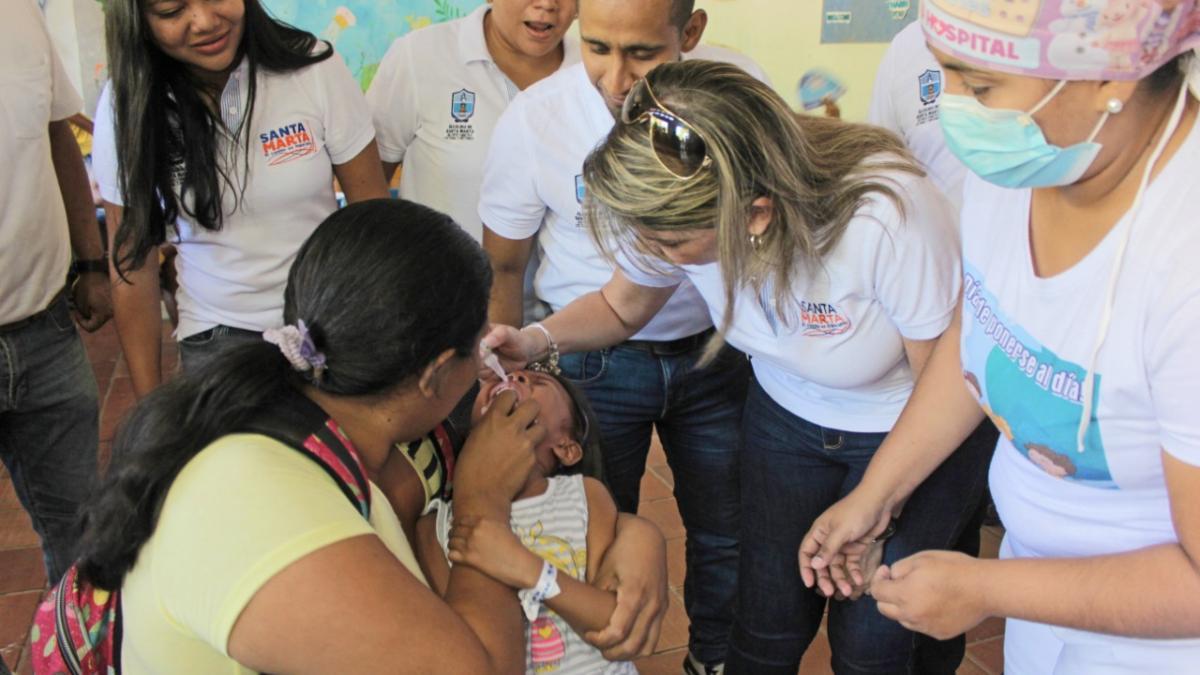 2772 dosis aplicadas en la I Jornada Nacional de Vacunación
