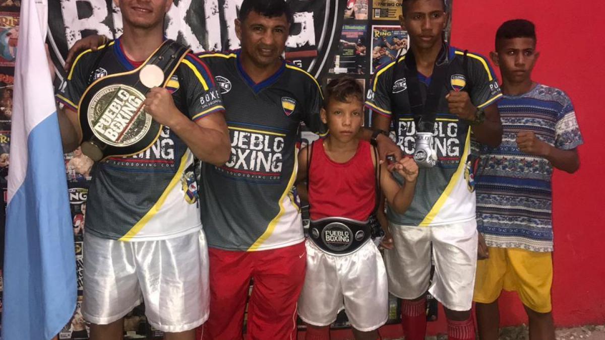Boxeadores del Cambio noquearon en Barranquilla