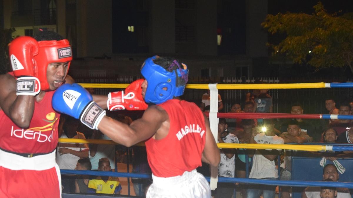 Boxeadores samarios derrotaron a los guajiros