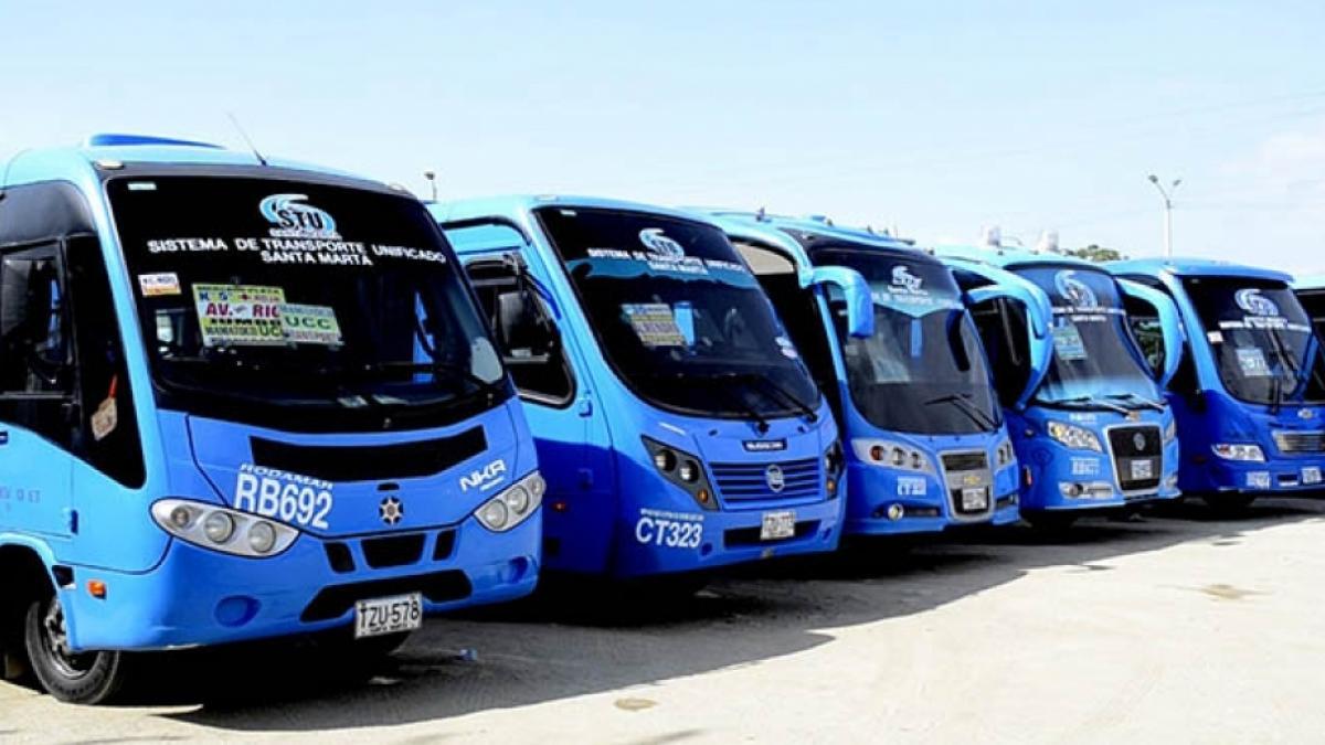 Alcaldía de Santa Marta ordena modificación en 6 rutas de buses urbanos