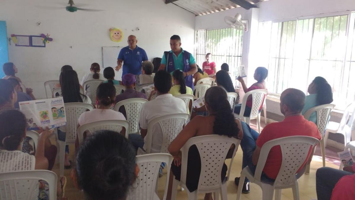 Distrito continua  búsqueda activa de sintomáticos respiratorios para Tuberculosis en jardines infantiles