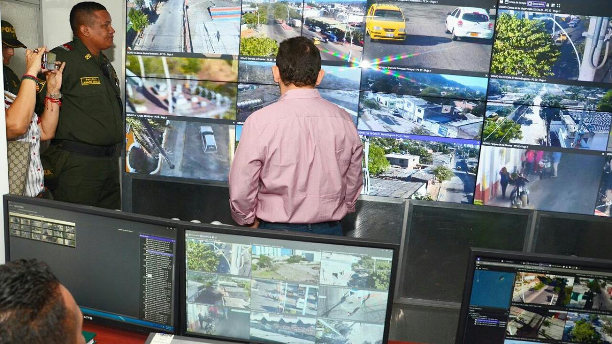 240 cámaras de seguridad vigilan a Santa Marta