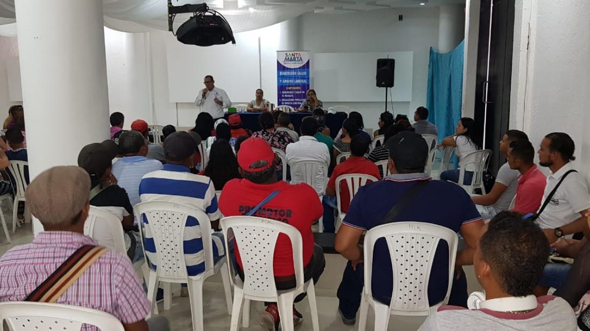 Secretaría de Salud Distrital coordinó capacitación a vendedores del sector turístico
