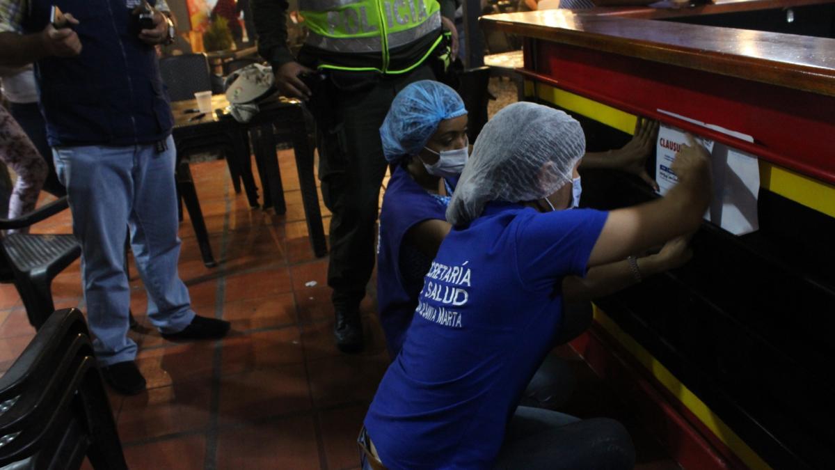 Distrito cierra un tercer restaurante por incumplimiento de normatividad sanitaria