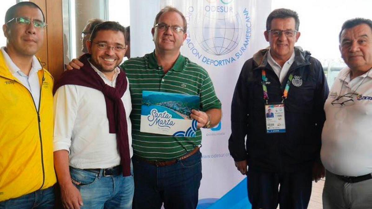 Conformado el comité de candidatura de Santa Marta para ser sede de los V Juegos Suramericanos de Playa - 2023