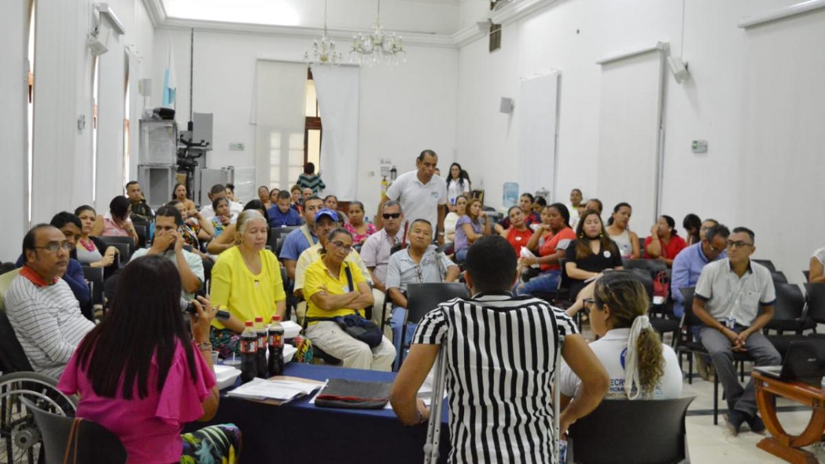 Distrito presentó avances de inclusión en III Comité de Discapacidad
