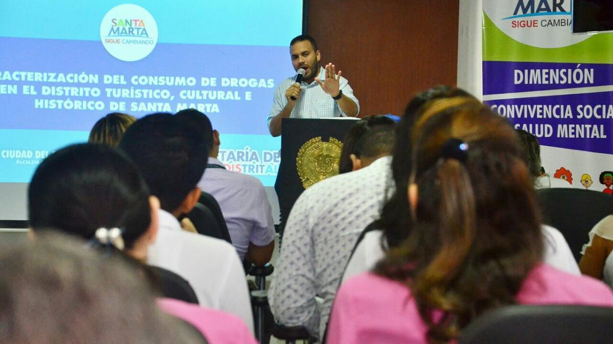 En Santa Marta se hablará sobre la problemática del consumo de drogas