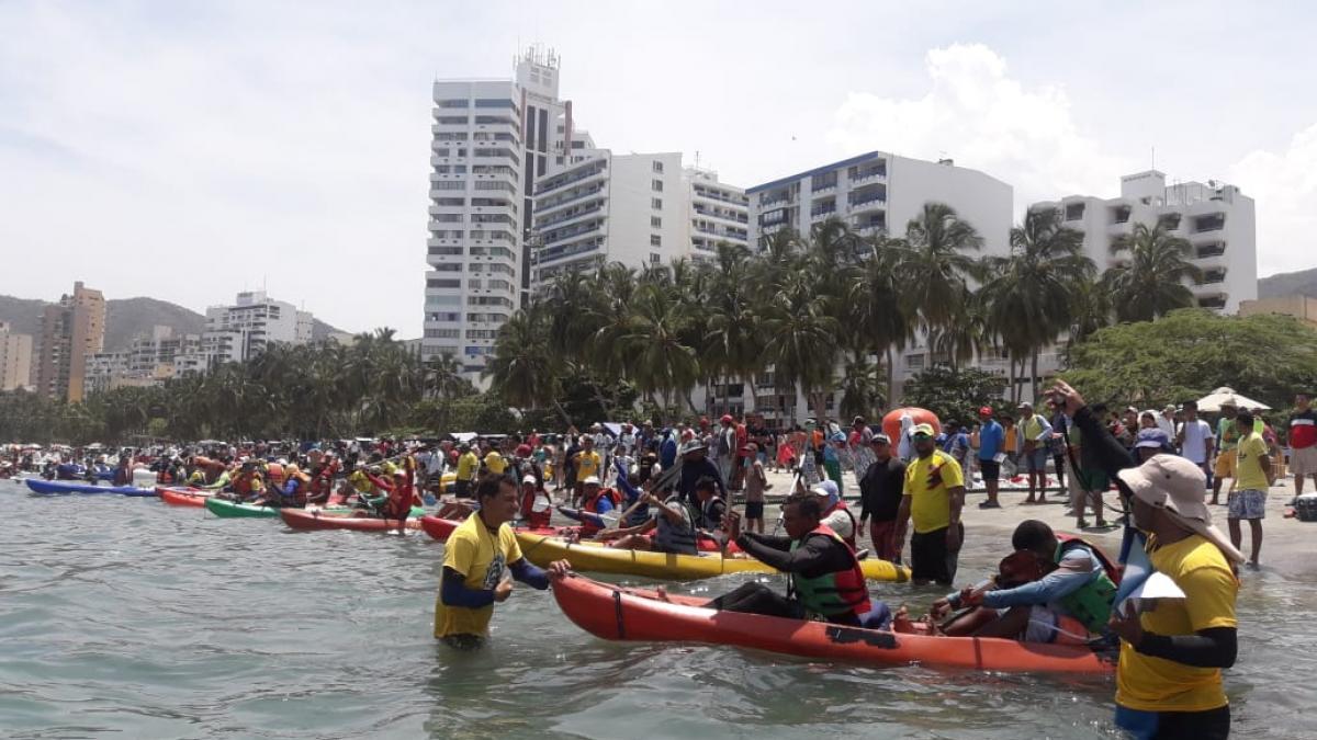 Competencias náuticas otro gran atractivo de la Fiesta de Mar