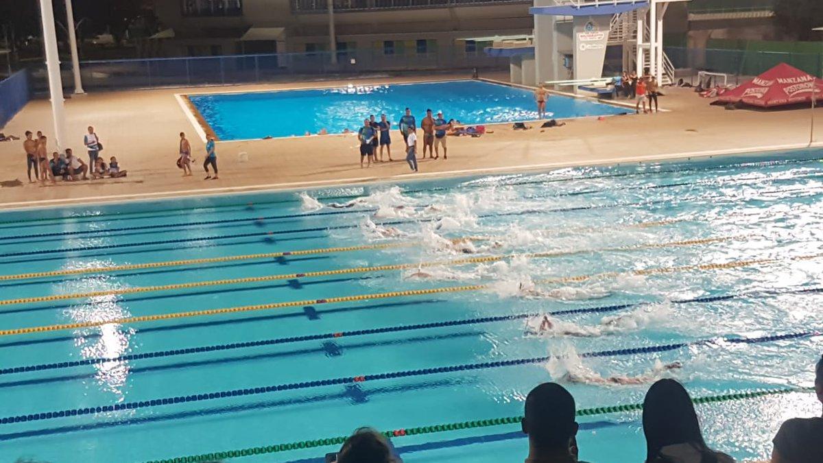 Inauguración del VII Campeonato Panamericano de Natación con Aletas
