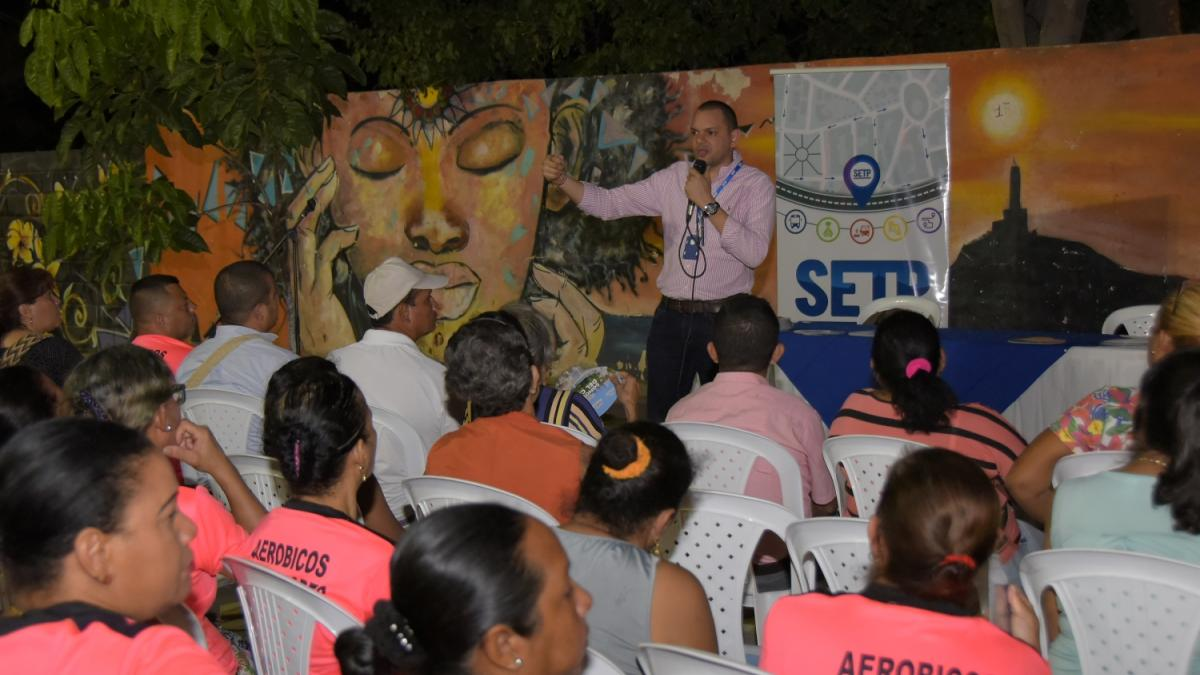 SETP Santa Marta se toma los barrios