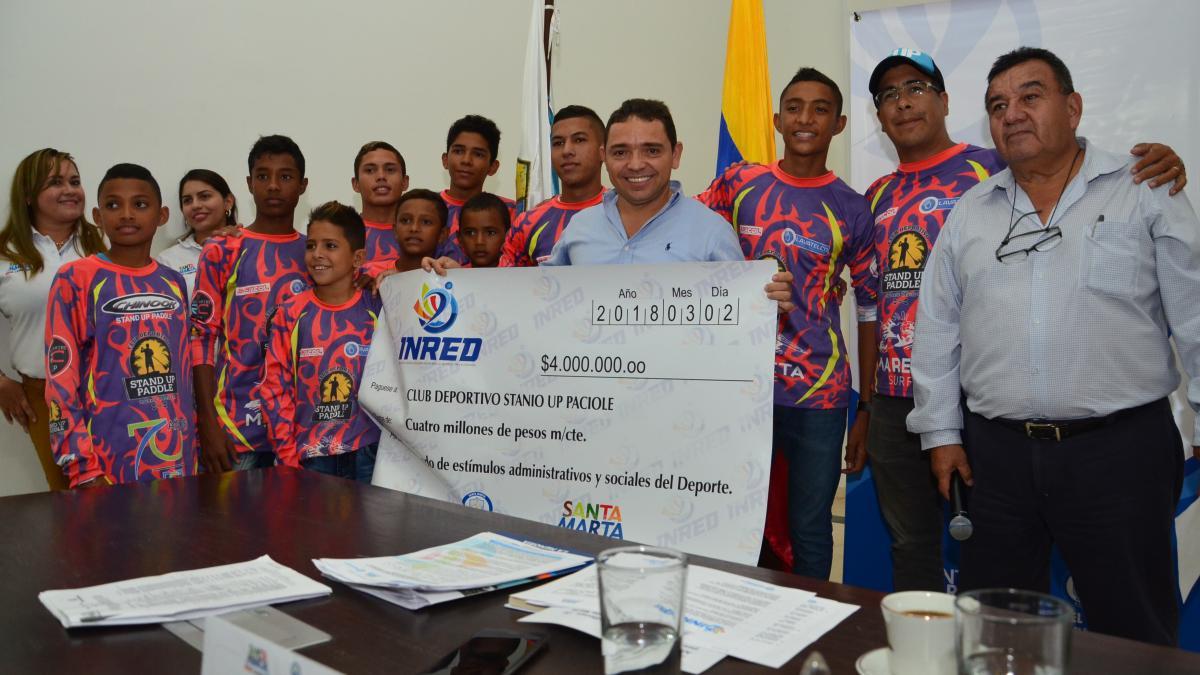 Alcalde ha entregado $400 millones para estímulo y fomento a deportistas