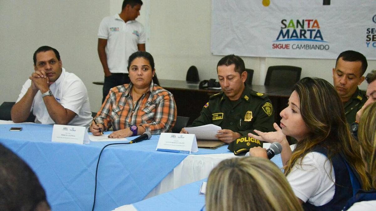 Distrito realizó Consejo de Seguridad Ampliado