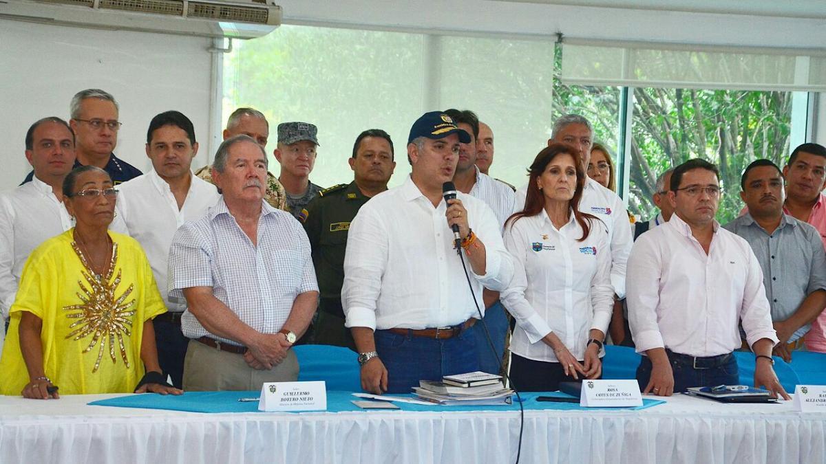 """""""Se declaró objetivo militar de alto valor  a 'Los Pachencas', vienen más policías y cámaras de seguridad"""": Alcalde Martínez"""