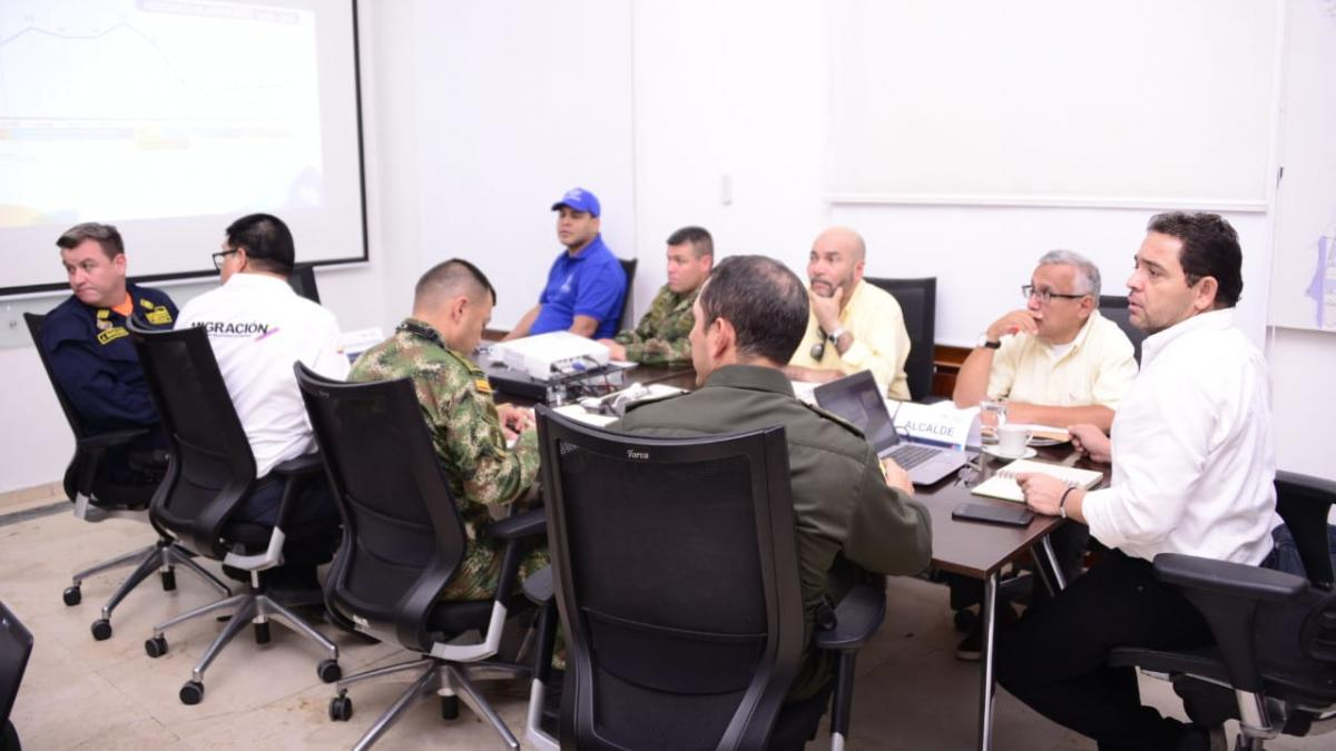 Alcalde Martínez lideró primer Consejo de Seguridad del 2019