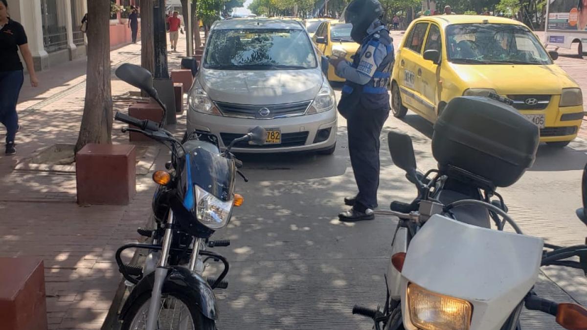 Alcaldía Distrital reactiva controles de movilidad en el Centro Histórico, Mercado Público y sector turístico