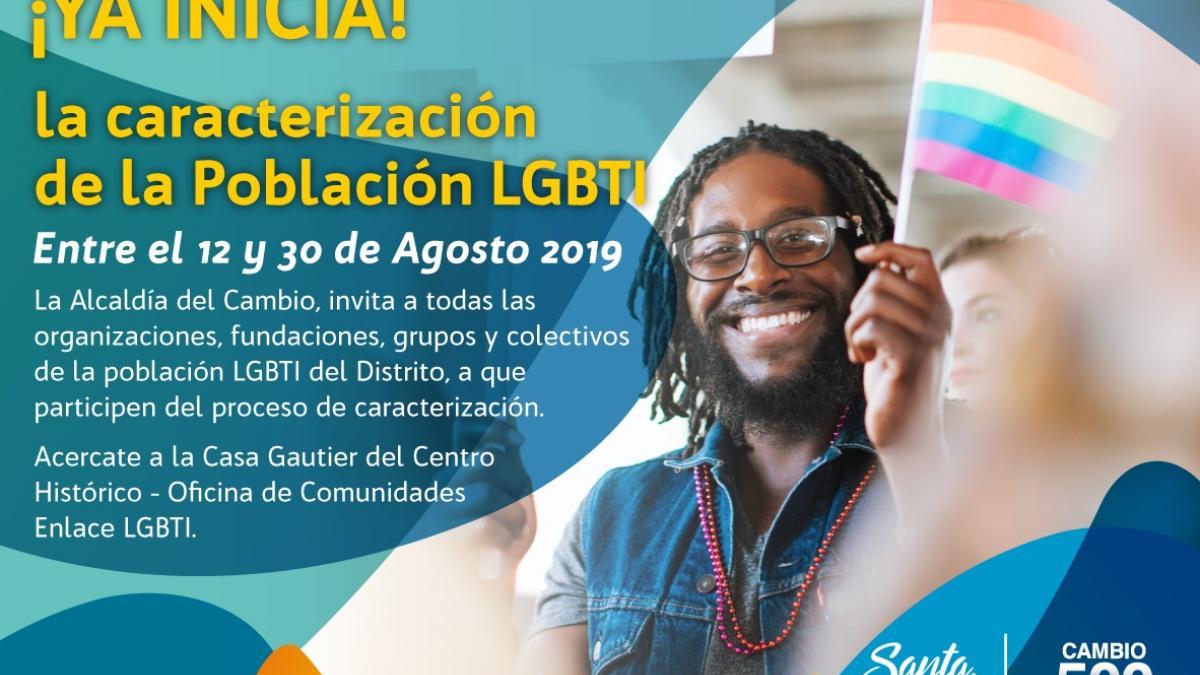 Alcaldía del Cambio inicia proceso de caracterización de la población LGBTI