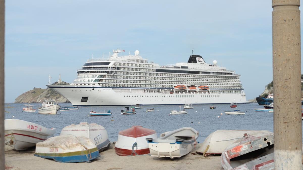 Crucero noruego llegó a Santa Marta